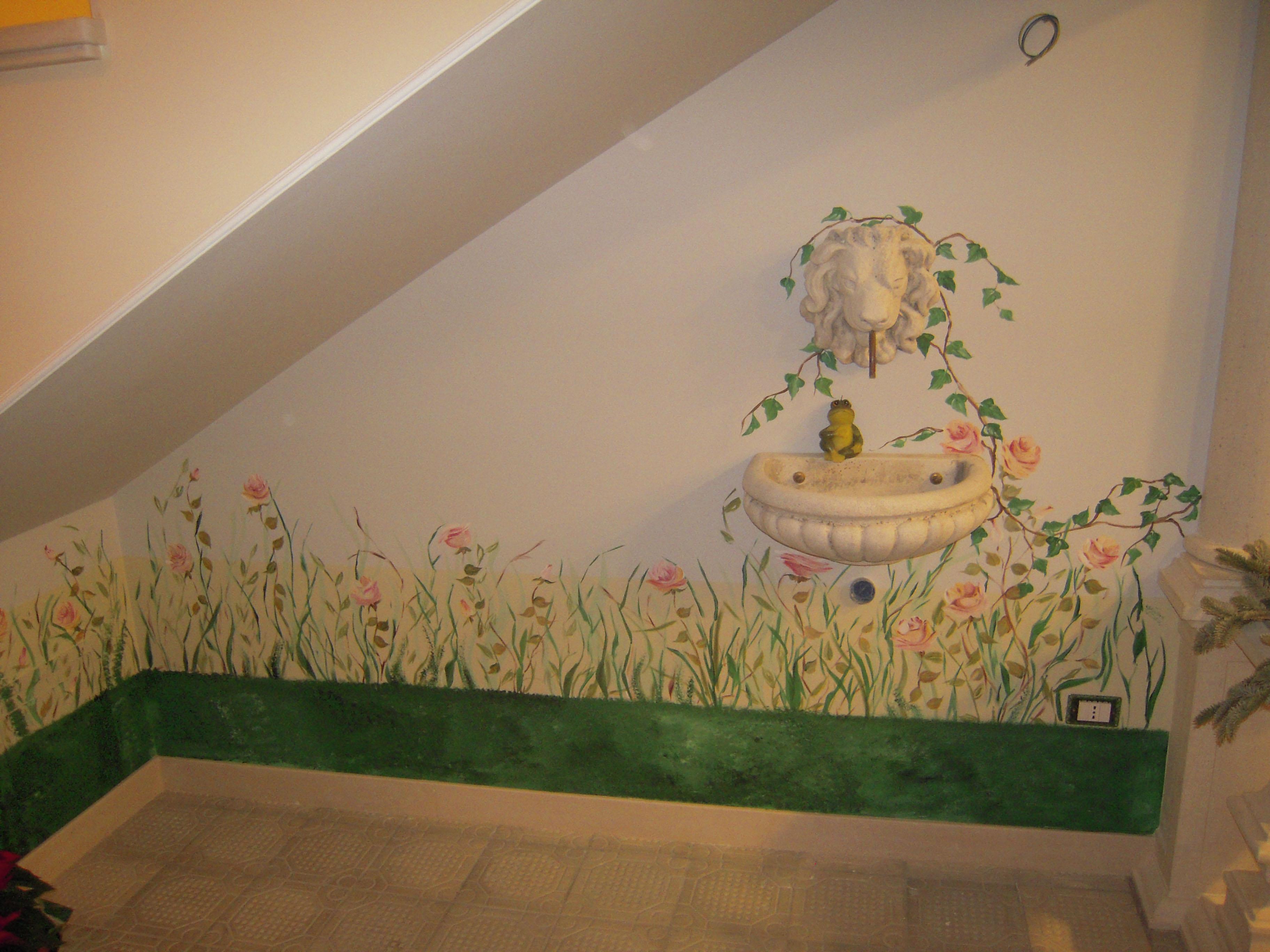 Pin decorazioni per pareti stencil e pittura foto 4040 - Decorazioni x pareti ...